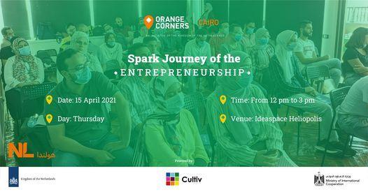 Spark - Journey of the Entrepreneurship, 20 April   Event in Marsa Alam   AllEvents.in
