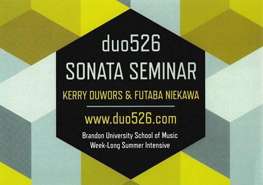 duo526 Sonata Seminar 2019