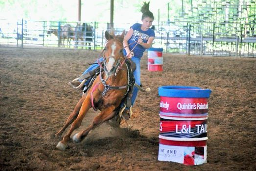 Pee Wee & Youth 3D & Open 4D Barrel Race #2 at Leesville Lions Club