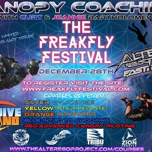 FreakFly Festival Skydive DeLand- Canopy Coaching