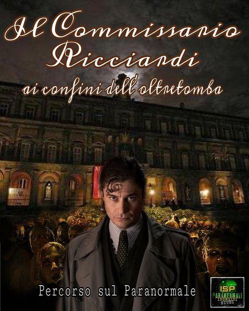 Il commissario Ricciardi ai confini dell'oltretomba, percorso sul Paranormale, 16 May | Event in Naples