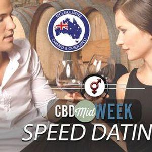 CBD Midweek Speed Dating  F 40-52 M 40-54  October