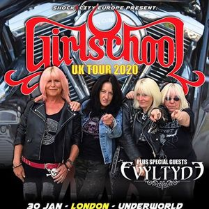 Girlschool at The Underworld Camden - London