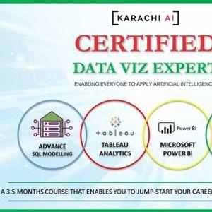 Karachi AI  Certified Viz Expert Training  Batch 2