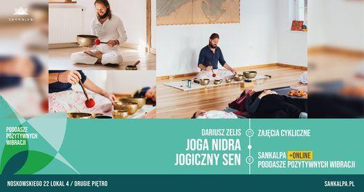 JOGA NIDRA - JOGICZNY SEN (real+online)   Event in Poznan   AllEvents.in