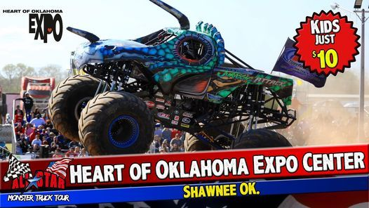 All Star Monster Trucks - Shawnee OK, 15 May | Event in Shawnee | AllEvents.in