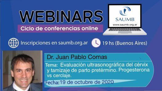 Webinar Evaluación US del cérvix y tamizaje de parto pretérmino. | Event in Buenos Aires | AllEvents.in