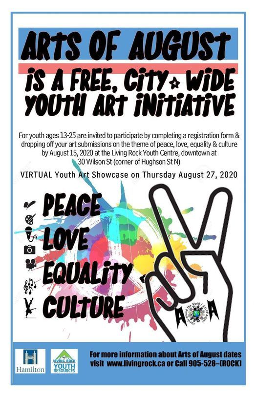 Living Rock Youth Resources Arts of August