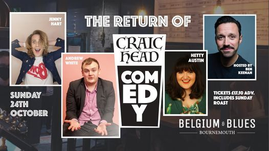 Craic Head Comedy   Event in Bournemouth   AllEvents.in