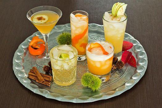 Herfst cocktail workshop