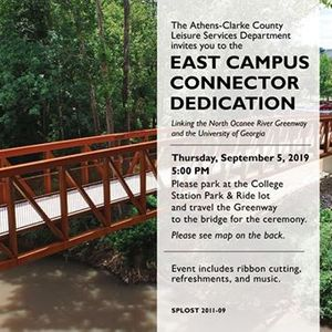 East Campus Connector Dedication at Athens-Clarke County