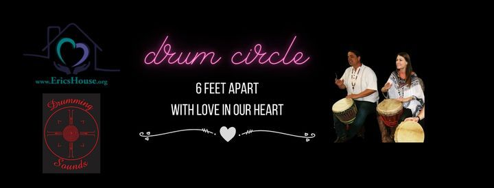 6 feet Apart hearts United Drum Circle, 17 January | Event in Paradise Valley | AllEvents.in