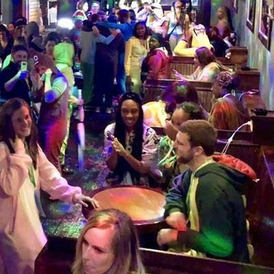 Massive Downtown San Diego Onesie Bar Crawl