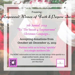 "7th Annual &quotTis the Season 4 Empowerment"" Christmas Campaign"