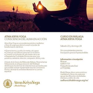 Atma Kriya Curso