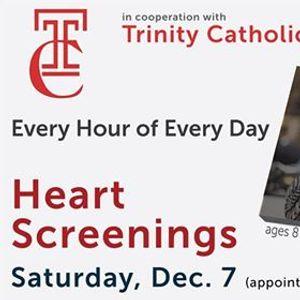 Heart Screenings hosted by Trinity Catholic