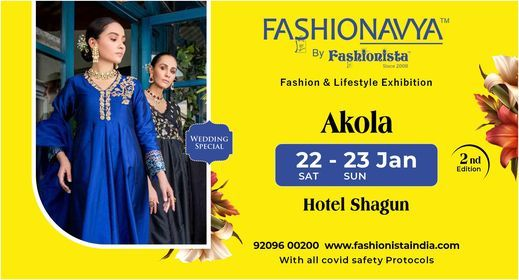 Fashionavya Fashion & Lifestyle Exhibition Akola, 23 January | Event in Akola | AllEvents.in