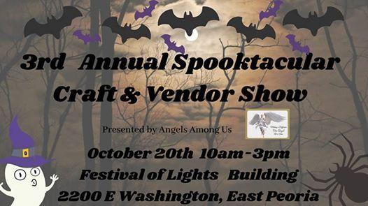 3rd Annual Spooktacular Craft And Vendor Show