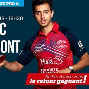 Pro A Caen TTC vs GV Hennebont