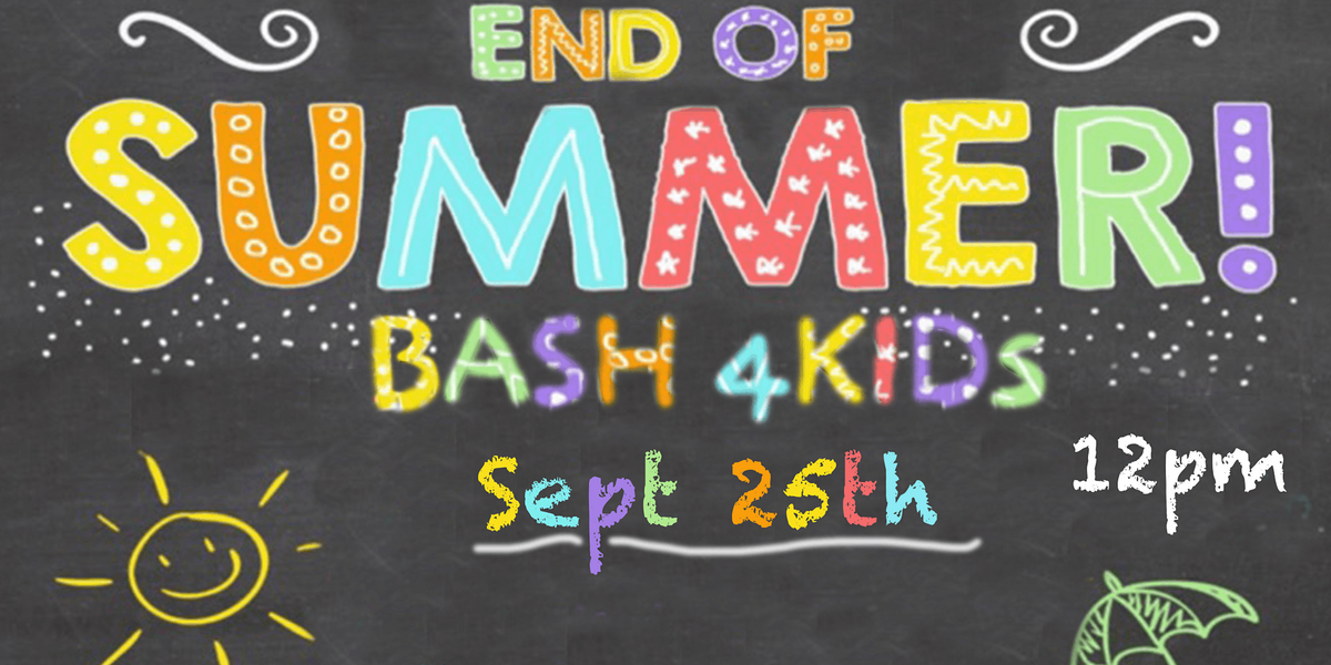 End of Summer Bash 4Kids, 25 September | Event in Silver Spring | AllEvents.in