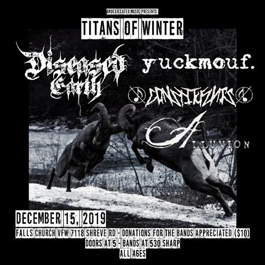 Titans of Winter A Showcase of Heavy Musics Finest