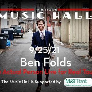 Ben Folds - In Actual Person Live for Real Tour w special guest Erin Mckeown