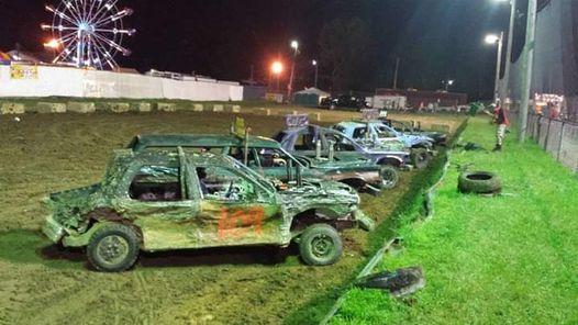 Demolition Derby No 2.   Summit County Fair OH 2020, Summit County