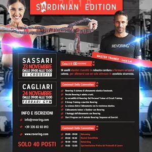 Revoring Convention a Cagliari e Sassari