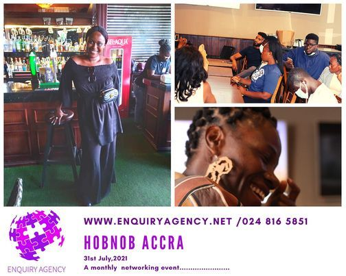 Hobnob Accra, 31 July | Event in Accra | AllEvents.in