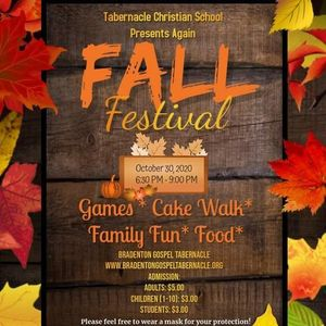 Tabernacle Christian School Brings Back the Fall Festival