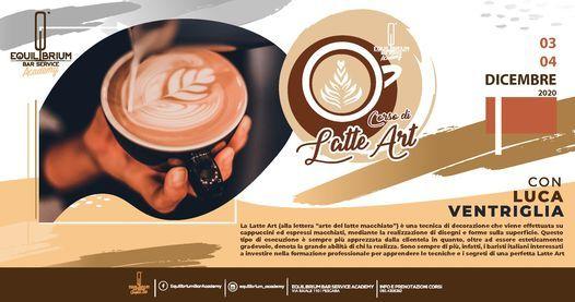 CORSO LATTE ART w/ LUCA Ventriglia, 3 December | Event in Pescara | AllEvents.in