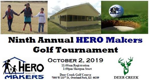 Ninth Annual HERO Makers Golf Tournament at Deer Creek Golf Club