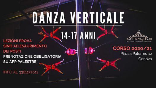 Corso Danza Verticale Ragazzi 14-17 ANNI sYnergiKa 2020/21 | Event in Genova | AllEvents.in
