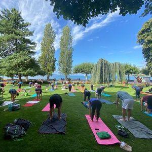 Yoga dans le parc  Vevey