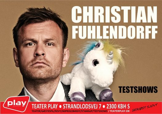 Christian Fuhlendorff - TESTSHOW, 10 May   Event in Herlev   AllEvents.in