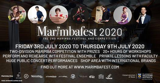 Marimbafest 2020 The 2nd Marimba Festival and Competition