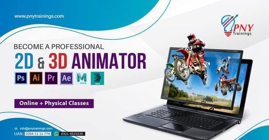 Become a Professional 2D & 3D Animator - 06 Months Course, 30 October | Event in Lahore | AllEvents.in