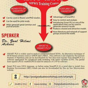 Oneday workshop Basic Pls-Sem SmartPLS 3.0