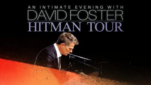 David Foster: Hitman Tour, 11 December   Event in Orlando   AllEvents.in