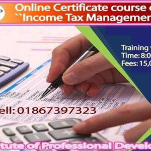 Online Certificate Course on Income Tax Management (10 Days Evening)
