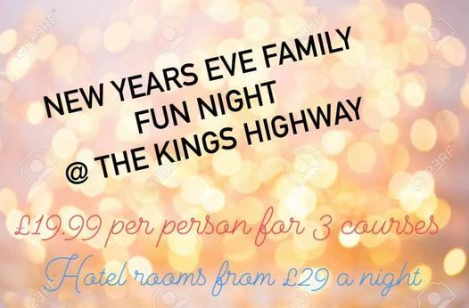 NYE FAMILY NIGHT, 31 December | Event in Derby | AllEvents.in