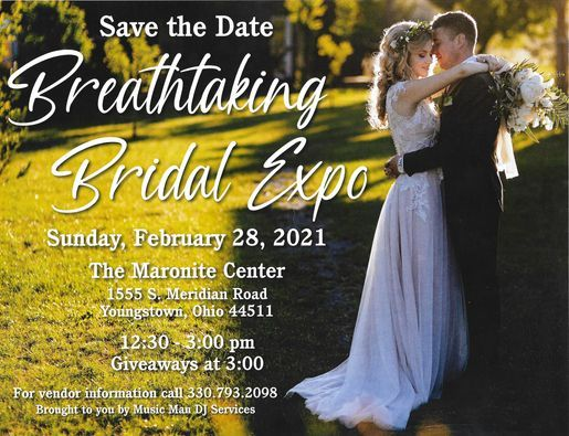 Breathtaking Bridal Expo 2021, 28 February   Event in Youngstown   AllEvents.in