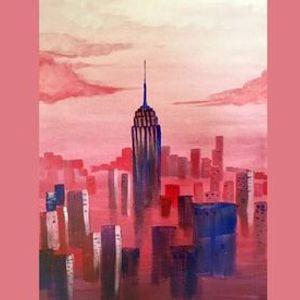 Digital Canvas] Rose Colored Glasses