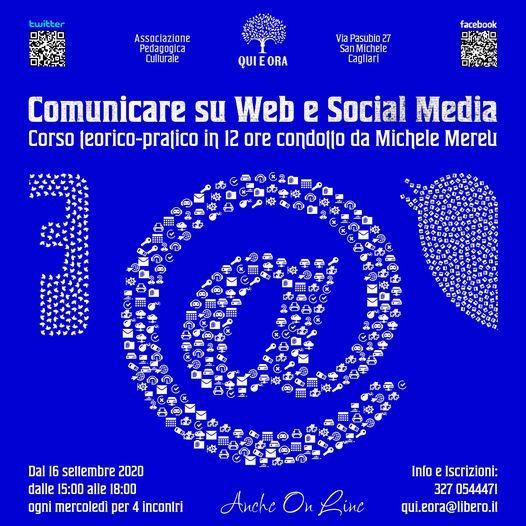Corso di comunicazione web e social media. Di Michele Mereu.