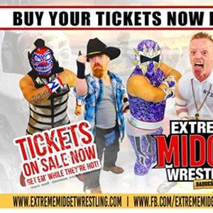 Extreme Midget Wrestling 2 in Garland TX at Hella Shriners
