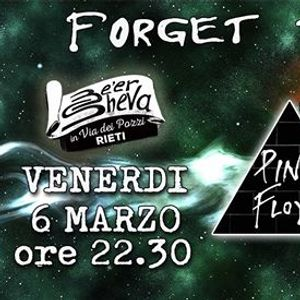 Friday Night Live - Forget The Sun - Pink Floyd Tribute Band