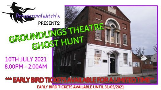 Groundlings Theatre Ghost Hunt, 10 July   Event in Portsmouth   AllEvents.in