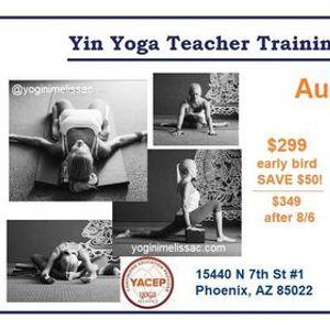 Yin Yoga Teacher Training and Weekend Intensive