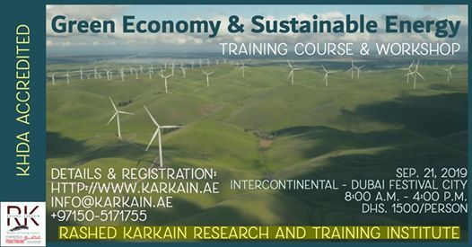 Green Economy and Sustainable Energy Training Course
