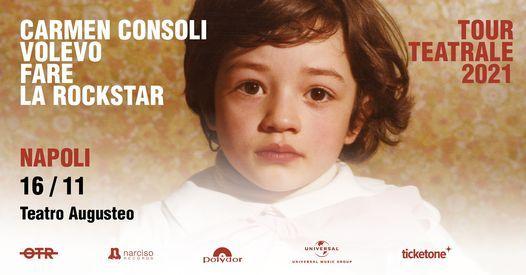 Carmen Consoli • Napoli, Teatro Augusteo, 16 November | Event in Naples | AllEvents.in